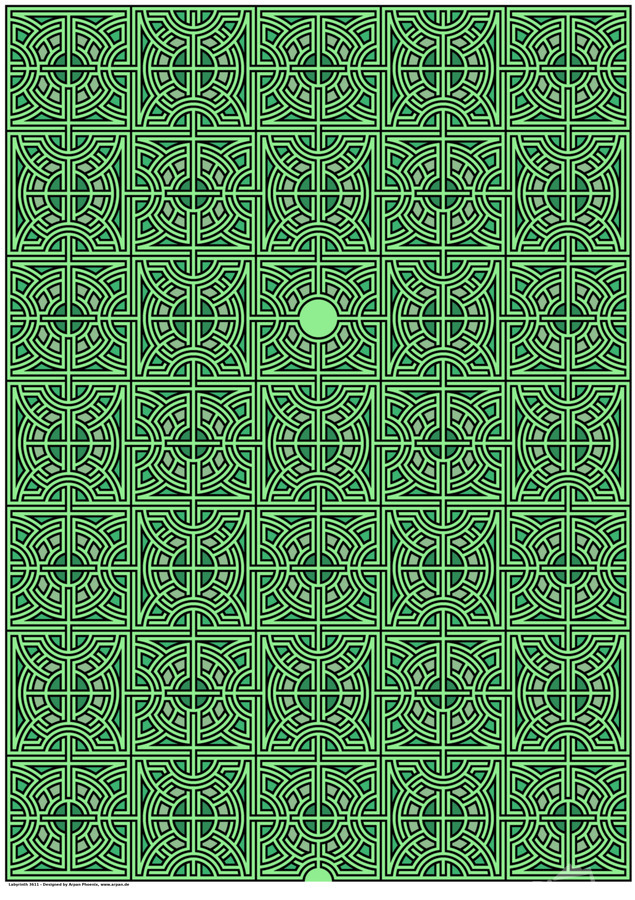Labyrinth 3611  Print