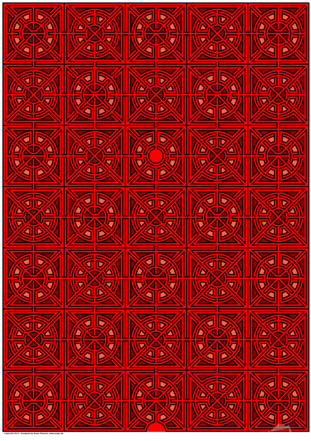 Labyrinth 3613  Print