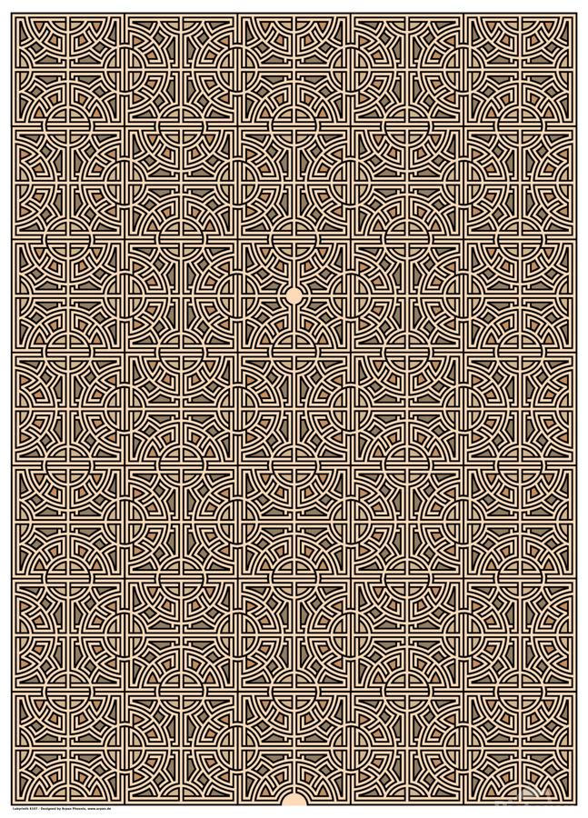 Labyrinth 4107  Print