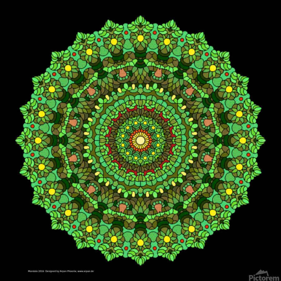 Mandala 2016  Print