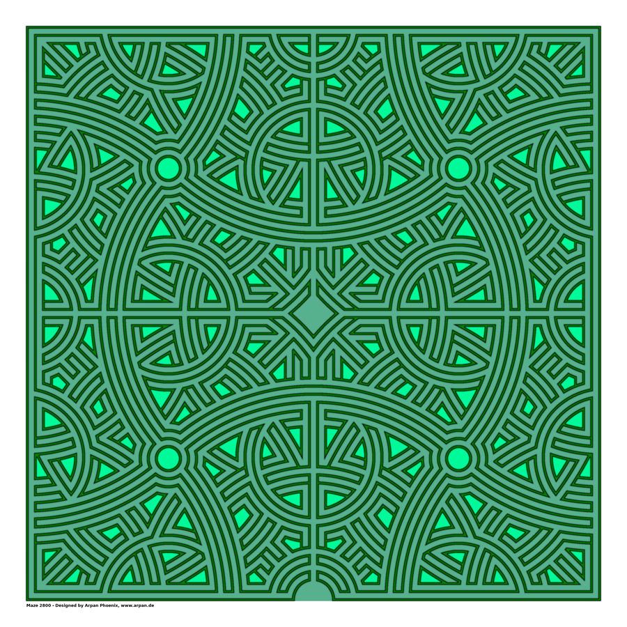 Maze 2800  Print
