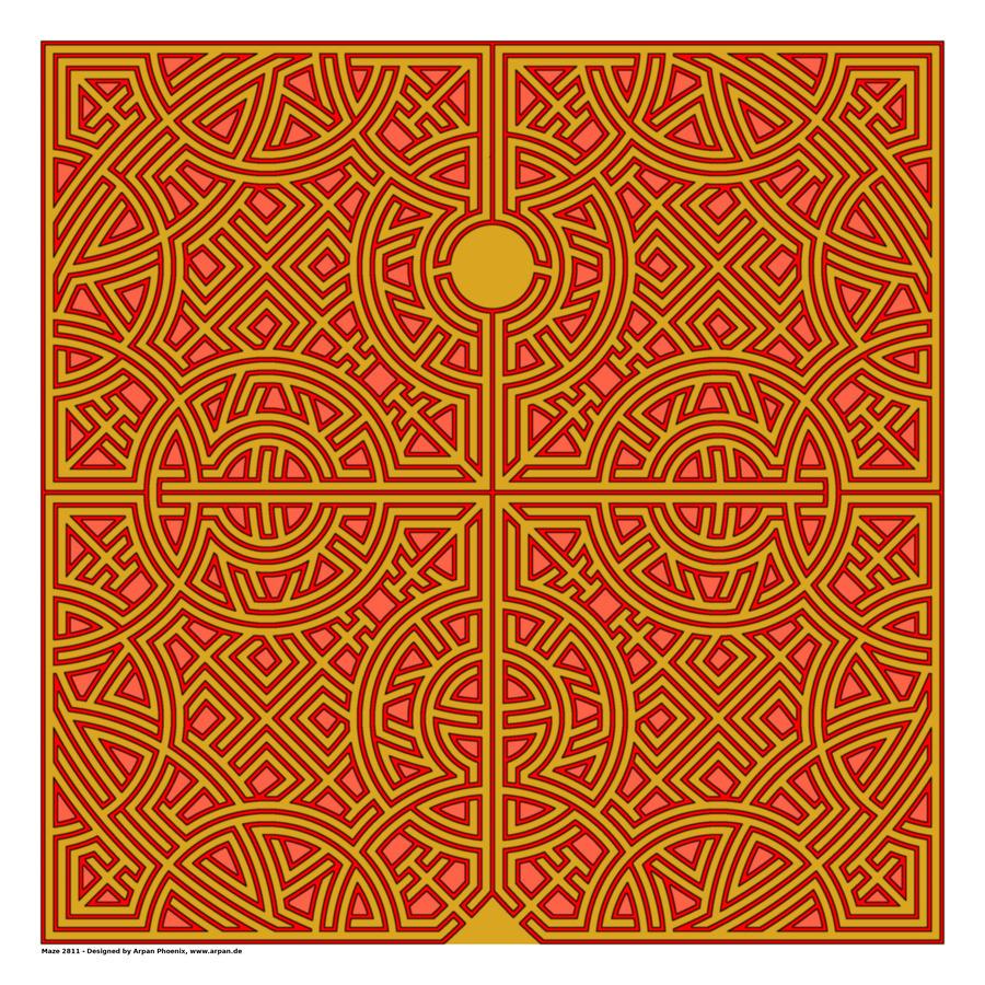 Maze 2811  Print
