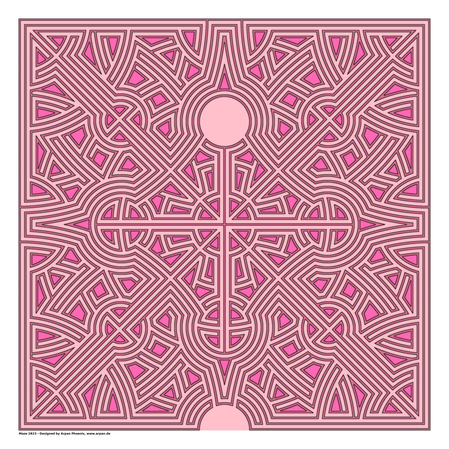 Maze 2823  Print