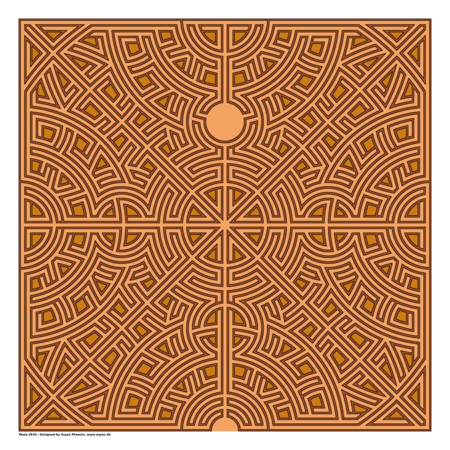 Maze 2830  Print
