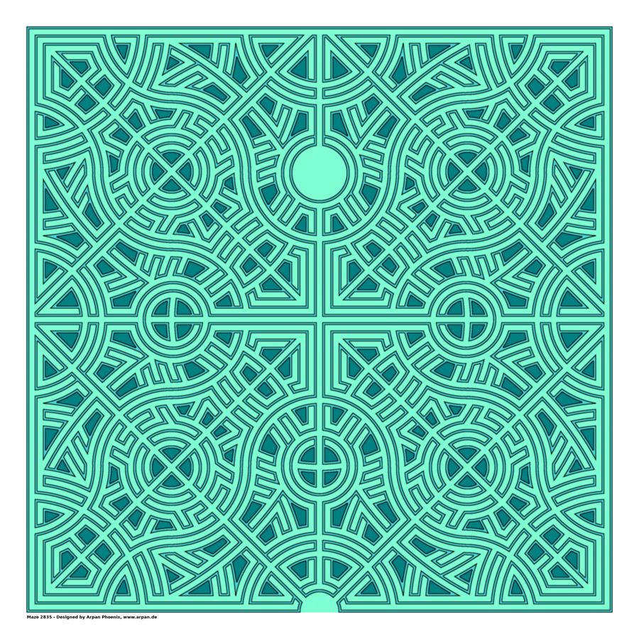Maze 2835  Print