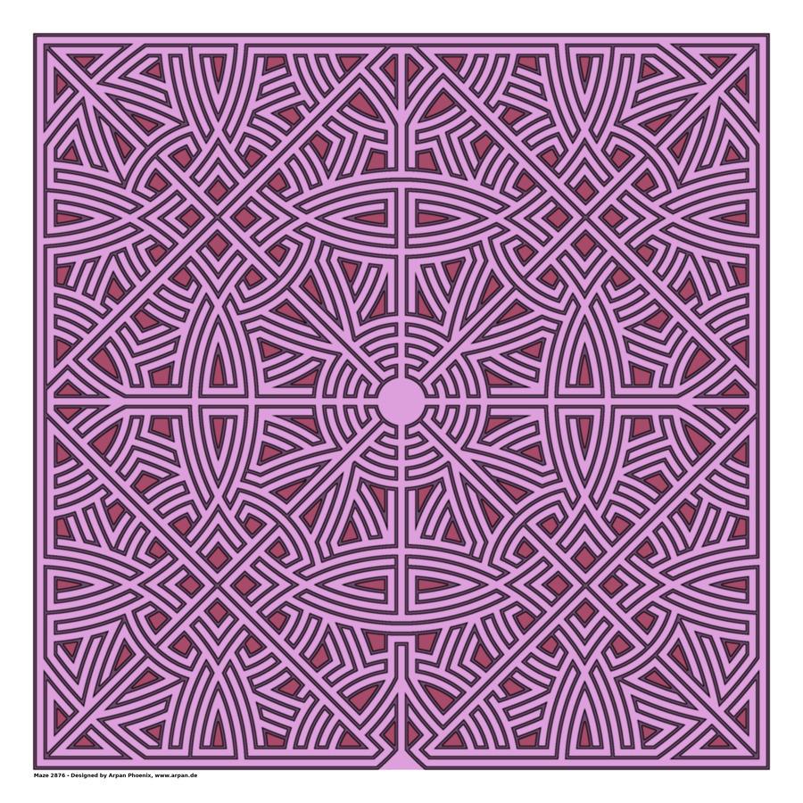 Maze 2876  Print