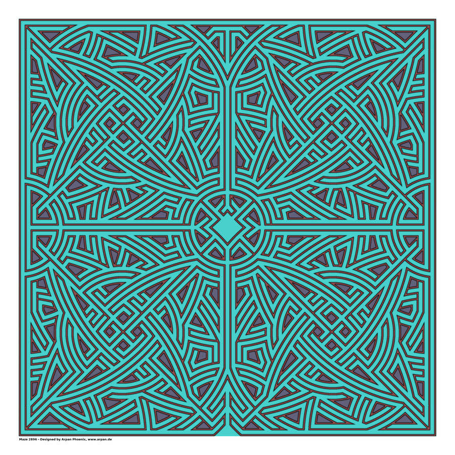 Maze 2896  Print