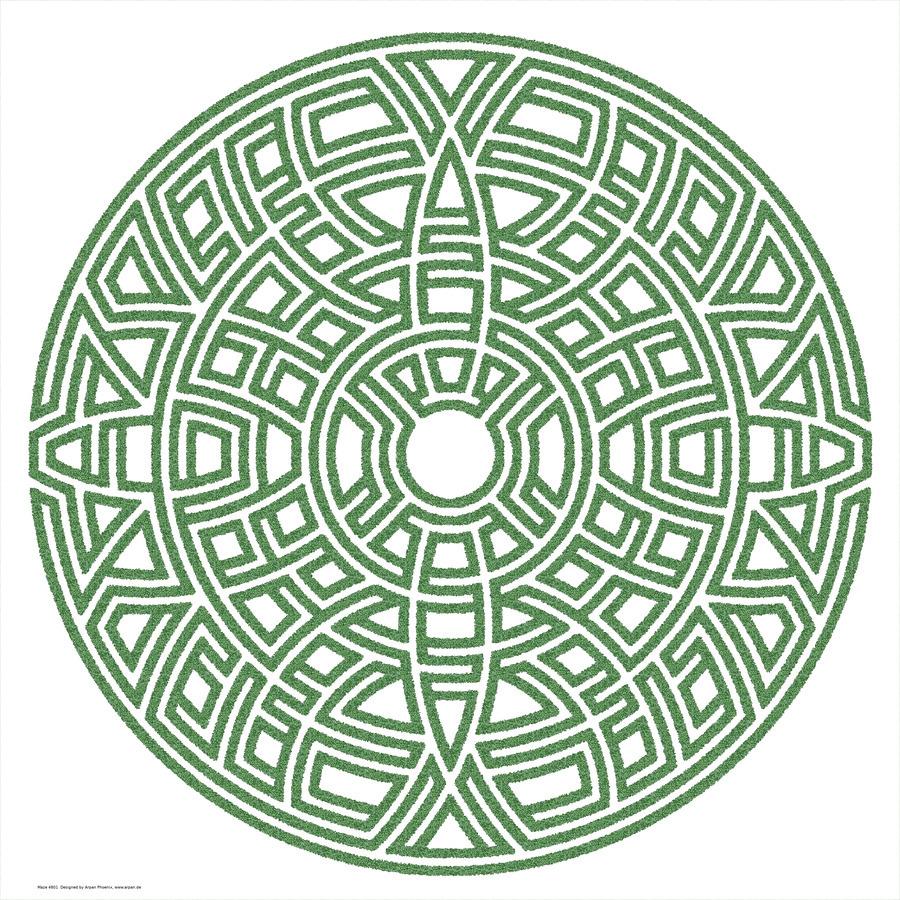 Maze 4801  Print