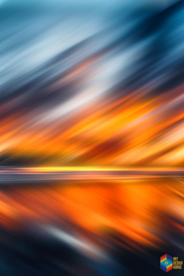 Abstract Movement XXXV  Print
