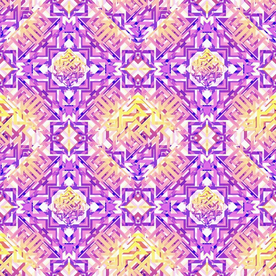 Abstract Pattern  Print