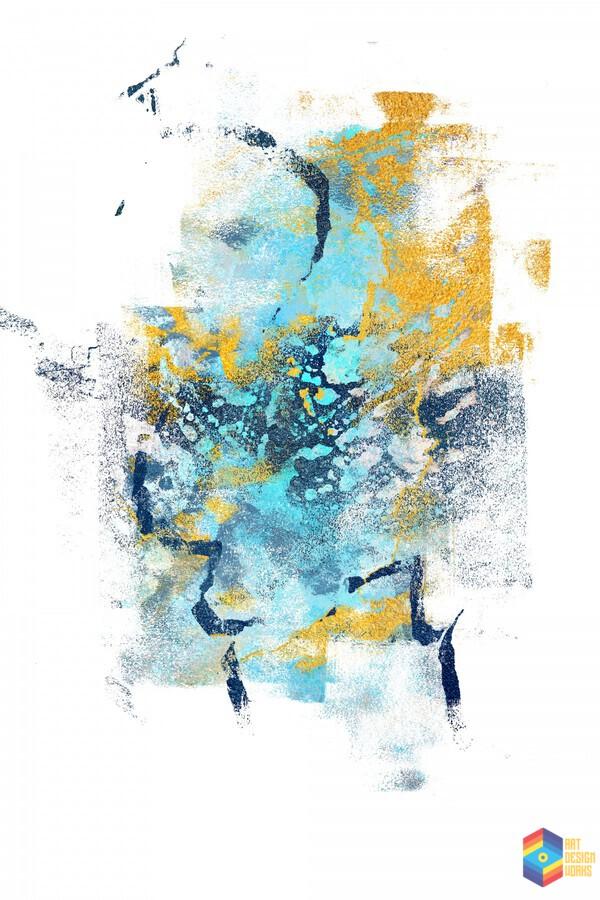 Element Metamorphosis Abstract Painting Iv Art Design Works Canvas Artwork
