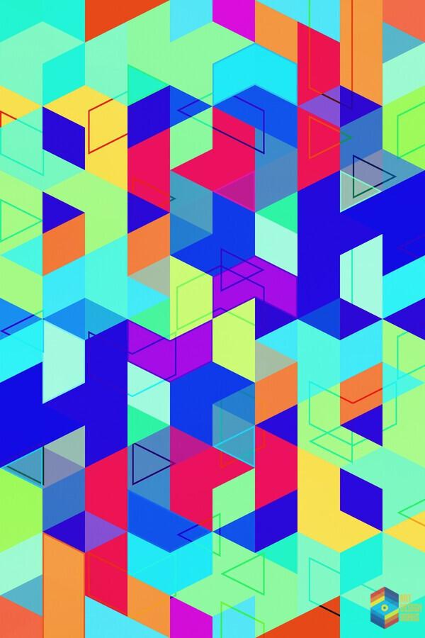Vivid Pattern II  Print