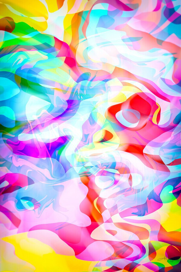 VIVID Abstraction I  Print