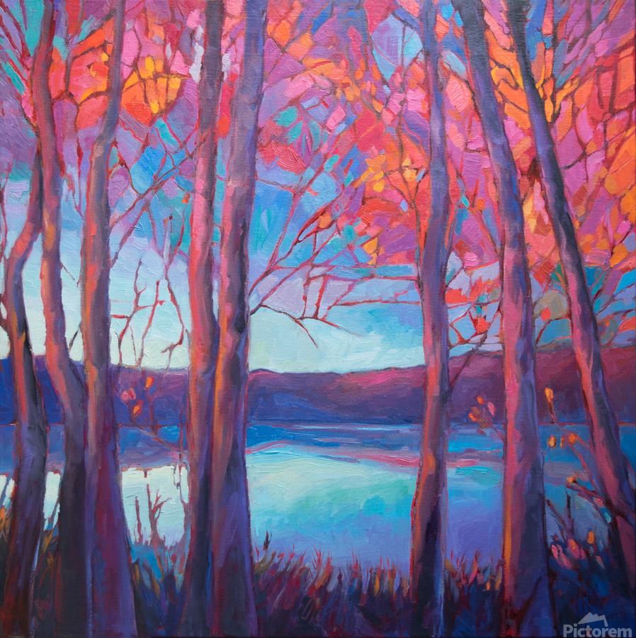 Autumn at the Lake  Print