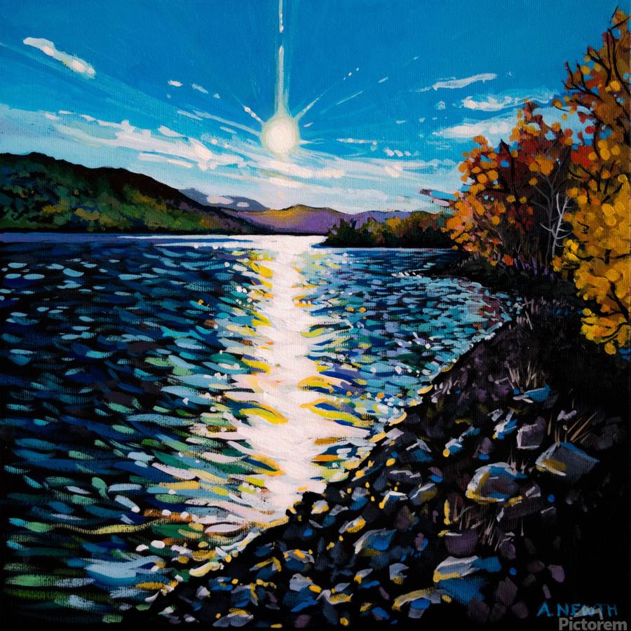 Moberly Lake  Print