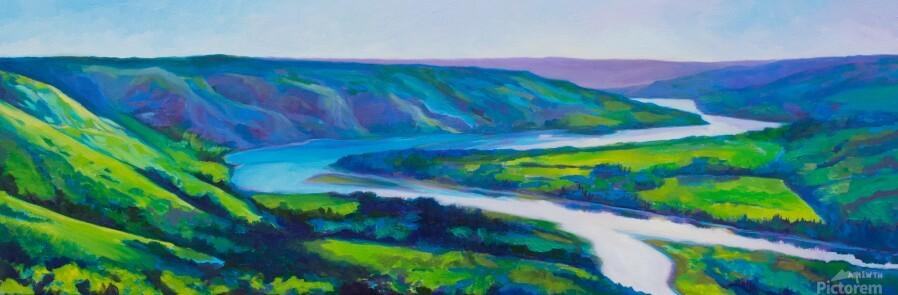 Peace River in Spring  Print