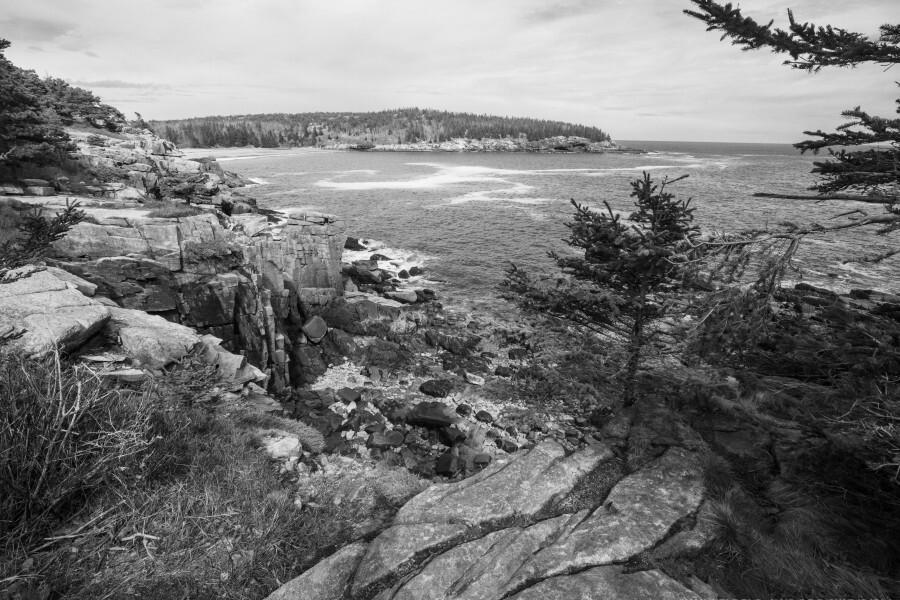 Acadia ap 2376 B&W  Print