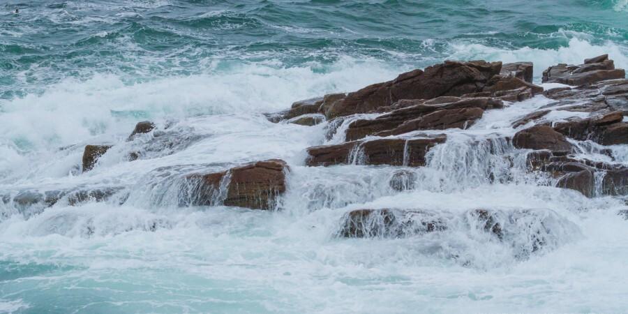 Crashing Waves ap 1535  Print