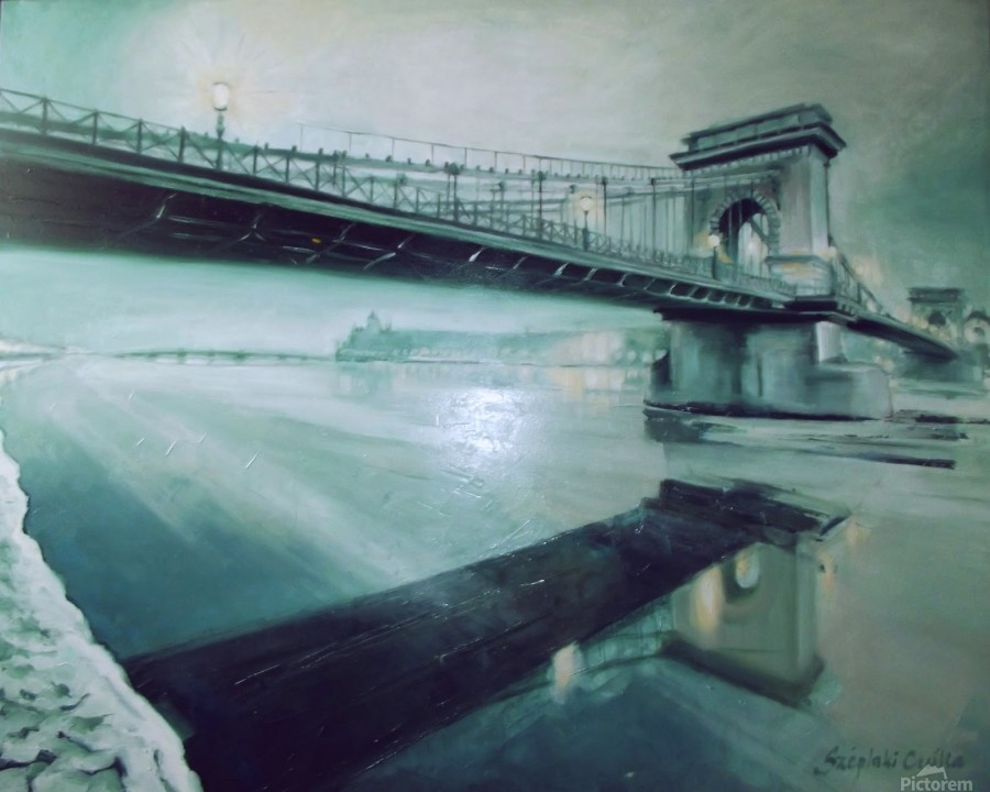Chain Bridge  Print