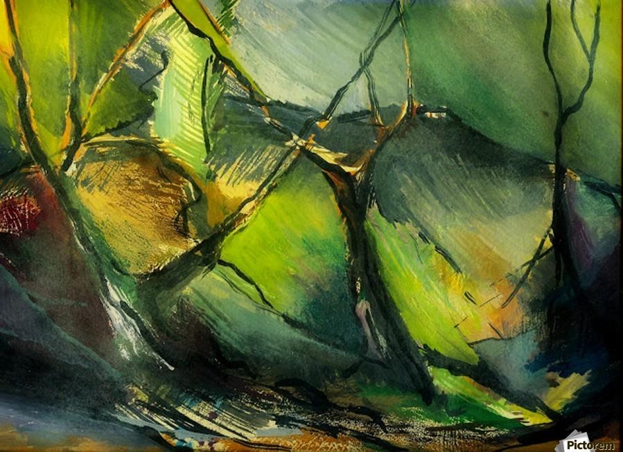 Inner Landscape Abstract Artofcaelia Canvas