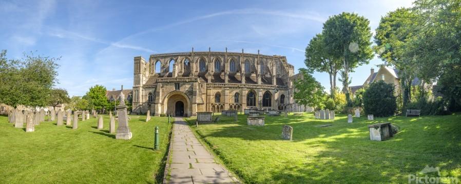 Historic Malmesbury Abbey, Wiltshire  Print