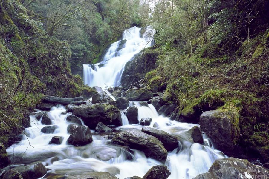 Torc waterfall in Killarney National Park  Print
