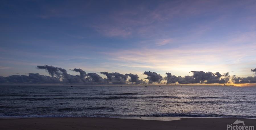 Sunrise Clouds  Print