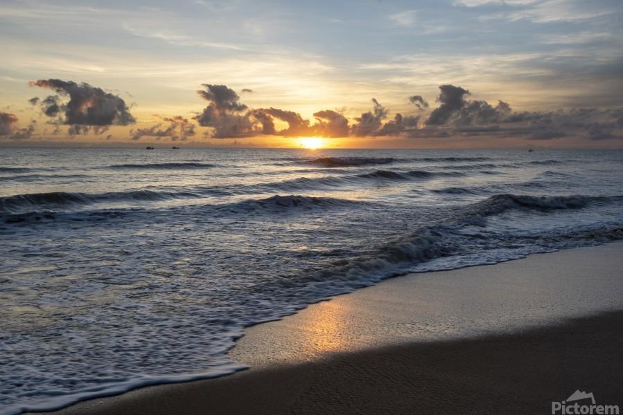 Sunrise Golden  Print