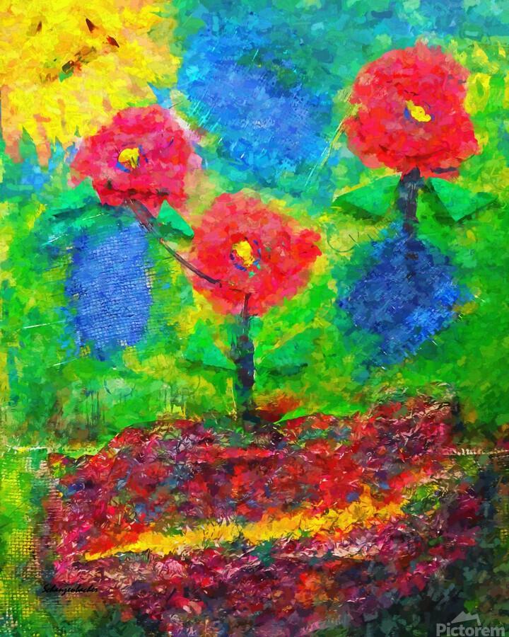 Dancing Flowers   Print