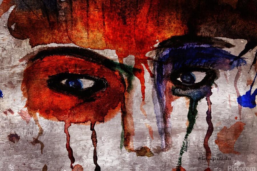 Life through her eyes  Print