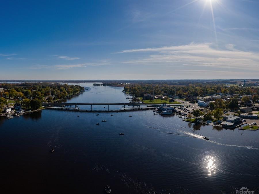 Bridges to Winneconne  Imprimer