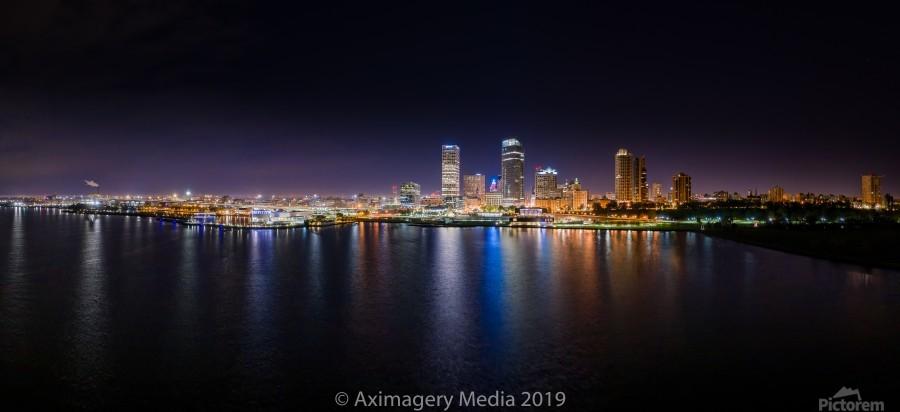 Milwaukee Skyline of Color  Imprimer