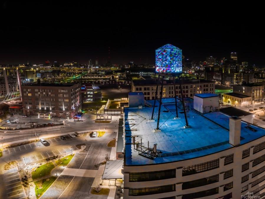 Milwaukee Blue  Imprimer