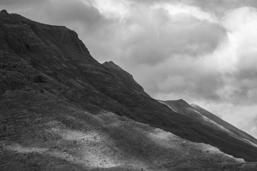 Light on the Mountain  Print
