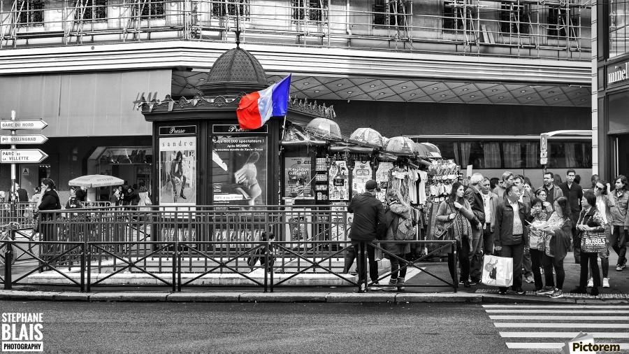 Paris - Newsstand  Print