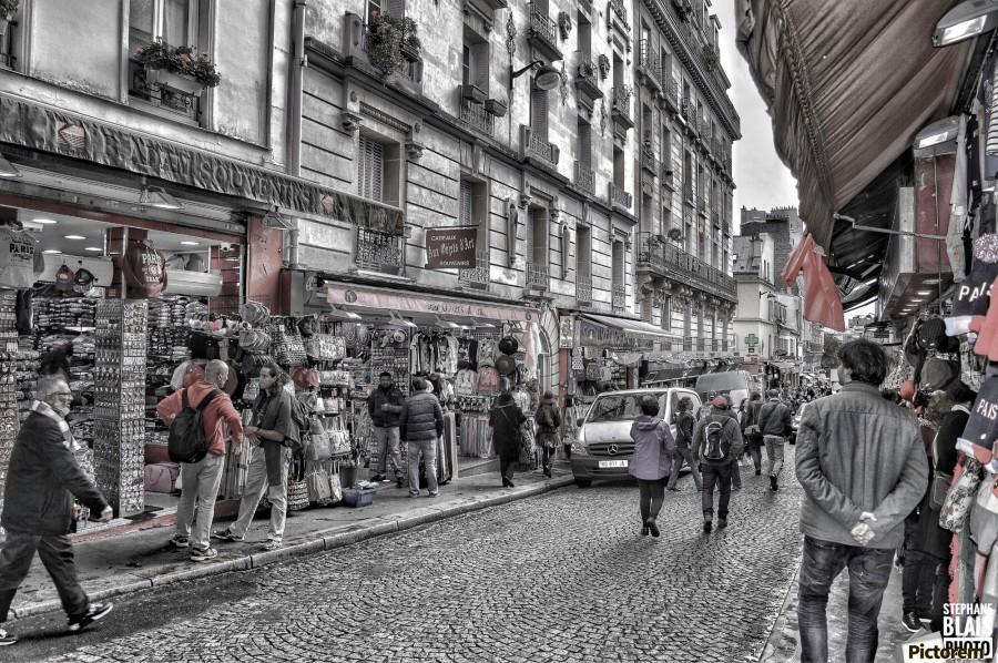 Streets of Paris - Montmartre  Print