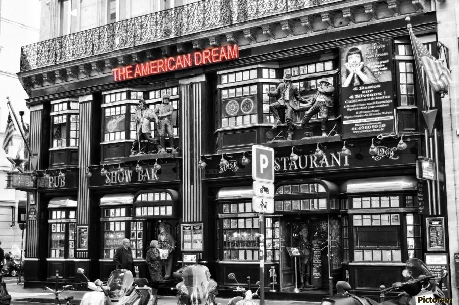 The American Dream  Print