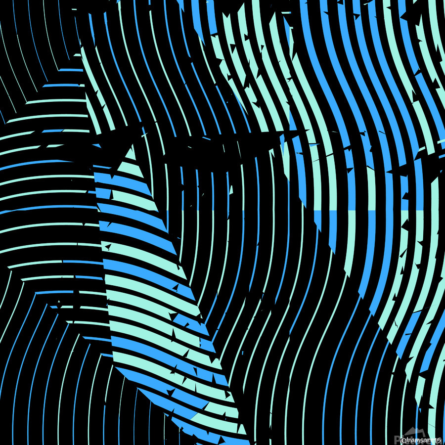 Stained Glass I  Print