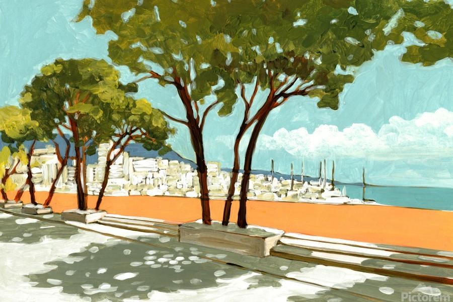Monaco  Print