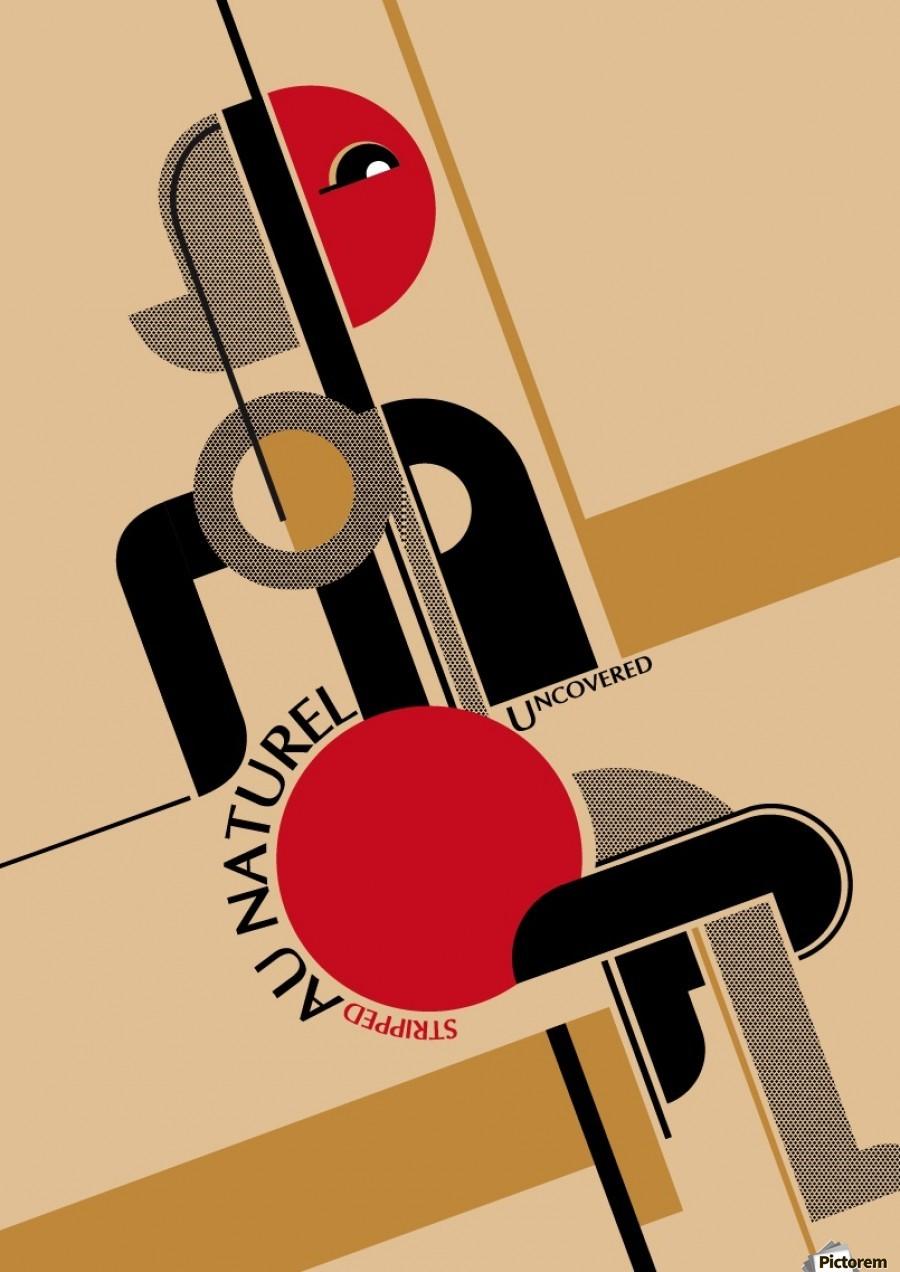 Bauhaus Nude Print ...