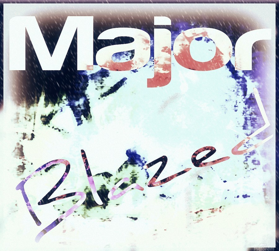 MajorBlazed SnowCO  Print