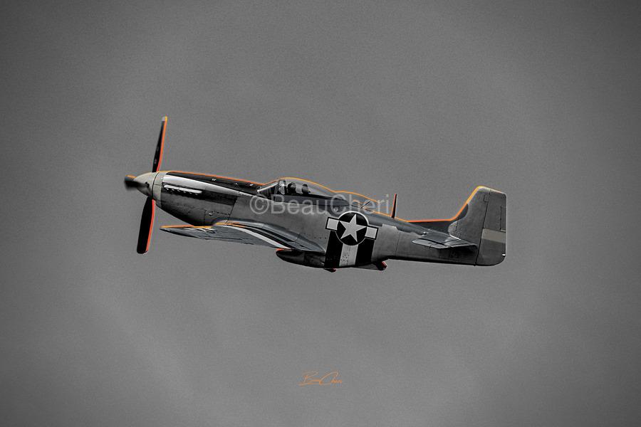 P-51 Orange Super Limited Edition 10 Prints only  Print
