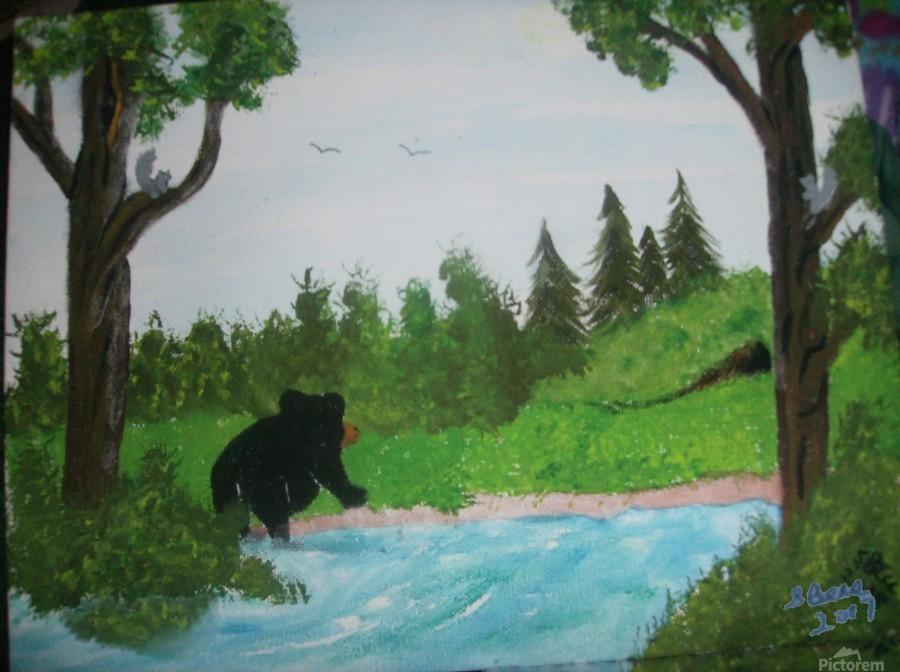 Bear territory   Print