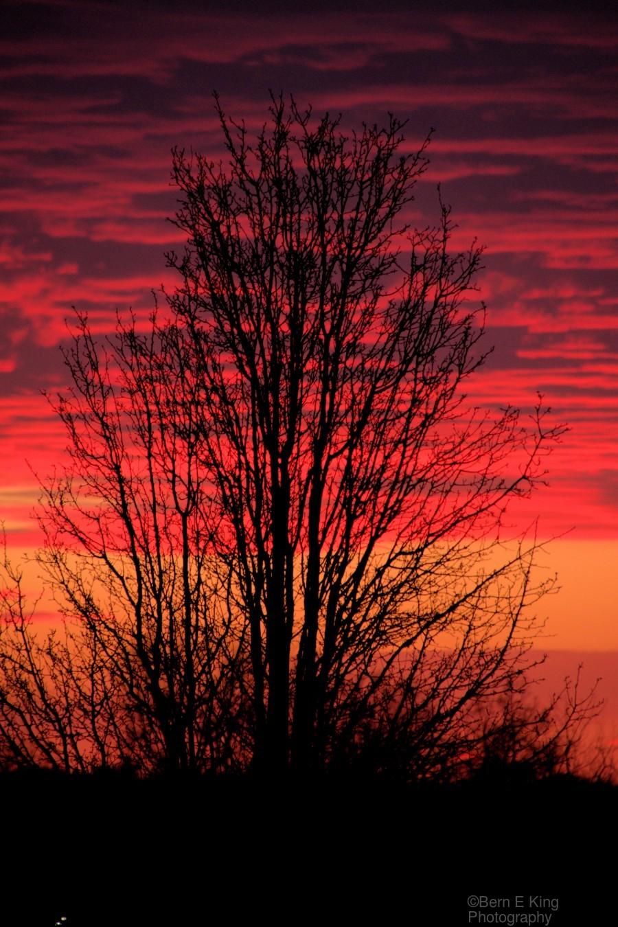 Liberty Missouri Sunset   Print