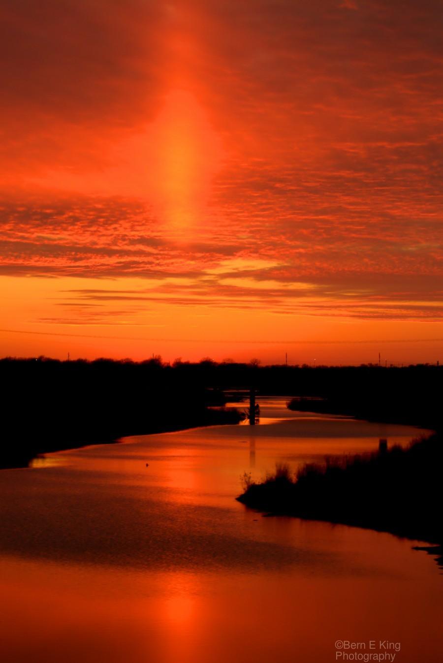 Big Ditch Sunset  Print