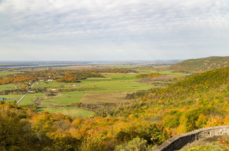 View of Ottawa Valley in Autumn 9  Print