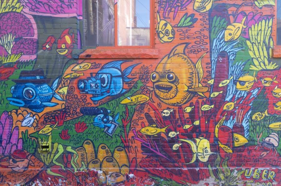 Torontos Graffiti Alley  17  Print
