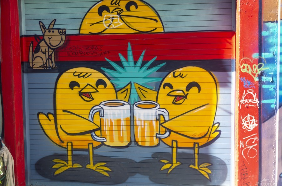 Torontos Graffiti Alley  61  Print