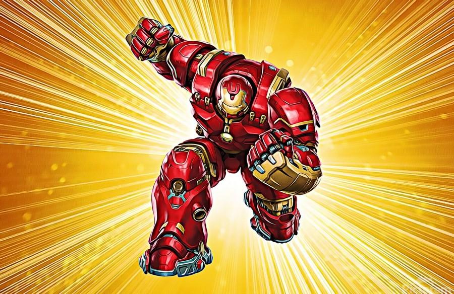 Ironman Hulkbuster  Print