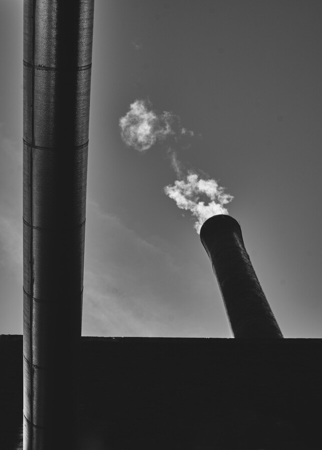 Smokestack Number Six  Print